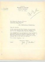 Image of Malone Correspondences 1935 - page 10