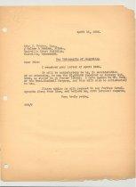 Image of Malone Correspondences 1935 - page 11