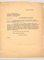 Image of Malone Correspondences 1935 - page 15