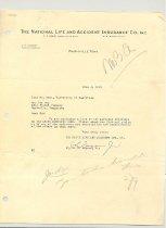Image of Malone Correspondences 1935 - page 18