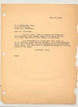Image of Malone Correspondences 1935 - page 23
