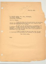 Image of Malone Correspondences 1935 - page 26