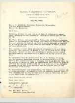 Image of Malone Correspondences 1935 - page 27