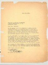 Image of Malone Correspondences 1936 - page 1