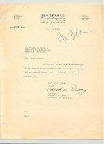 Image of Malone Correspondences 1937 - page 8