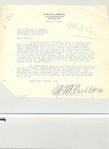 Image of Malone Correspondences 1938 - page 9
