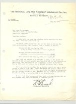 Image of Malone Correspondences 1939 - page 4