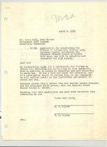 Image of Malone Correspondences 1940 - page 3