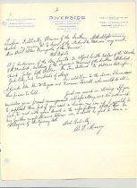 Image of Malone Correspondences 1933 - page 12
