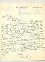 Image of Malone Correspondences 1933 - page 15