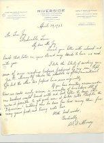Image of Malone Correspondences 1933 - page 17