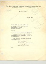 Image of Malone Correspondences 1933 - page 20