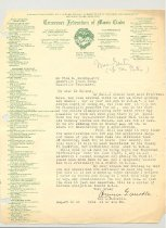 Image of Malone Correspondences 1933 - 38