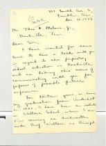 Image of Malone Correspondences 1933 - page 56