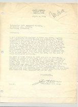 Image of Malone Correspondences 1932- page 2