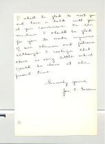 Image of Malone Correspondences 1933 - page 60