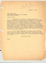 Image of Malone Correspondences 1934 - page 1