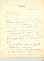Image of Malone Correspondences 1934 - page 2