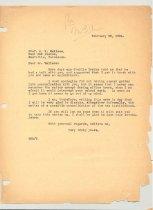 Image of Malone Correspondences 1934 - page 4