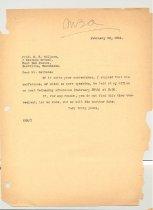 Image of Malone Correspondences 1934 - page 5
