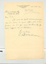 Image of Malone Correspondences 1934 - page 6