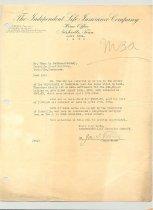 Image of Malone Correspondences 1934 - page 14
