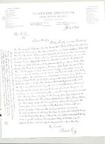 Image of Malone Correspondences 1928 - page 1
