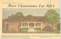 Image of Wallace Hall picture in Nashville Banner - 1961
