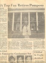 Image of Cary Carter Nashville Banner article - page 1
