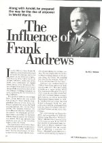 Image of Andrews Air Force Magazine Article - page 1