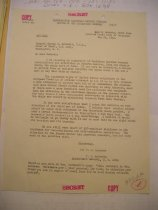 Image of Andrews May 28 1942 correspondence