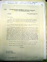 Image of Andrews Aug 8 1942 correspondence