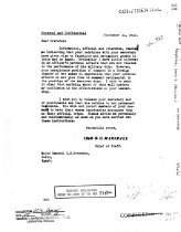 Image of Andrews Sep 14 1942 correspondence