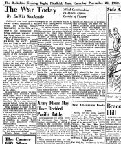 Image of Andrews Nov 21 1942 newspaper