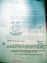 Image of Andrews Nov 1942 correspondence - 1