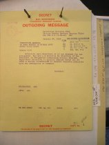 Image of Andrews Jan 30 1943 correspondence