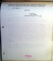 Image of Andrews Mar 3 1943 correspondence - 2