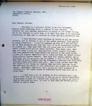 Image of Andrews Mar 3 1943 correspondence - 3