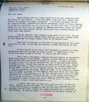 Image of Andrews Mar 3 1943 correspondence - 5