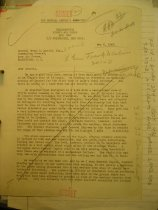 Image of Andrews May 6 1943 correspondence - 1