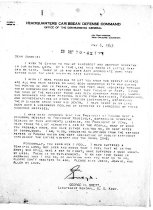 Image of Andrews May 6 1943 Brett correspondence