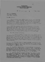 Image of Andrews May 7 1943 correspondence