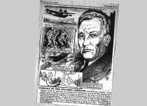 Image of Andrews newspaper drawing
