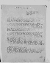 Image of Andrews May 7 1943 correspondence - 3