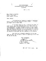 Image of Andrews May 8 1943 correspondence