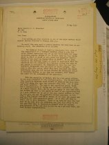 Image of Andrews May 10 1943 Ingles correspondence - 1