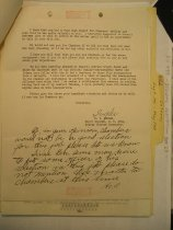 Image of Andrews May 10 1943 Ingles correspondence - 2