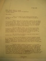 Image of Andrews May 15 1943 Bonesteel correspondence - 1