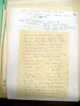 Image of Andrews April 1907 papers to wife - 3