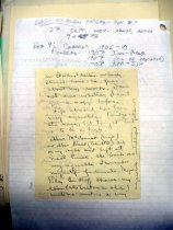 Image of Andrews May 1907 papers to wife - 3